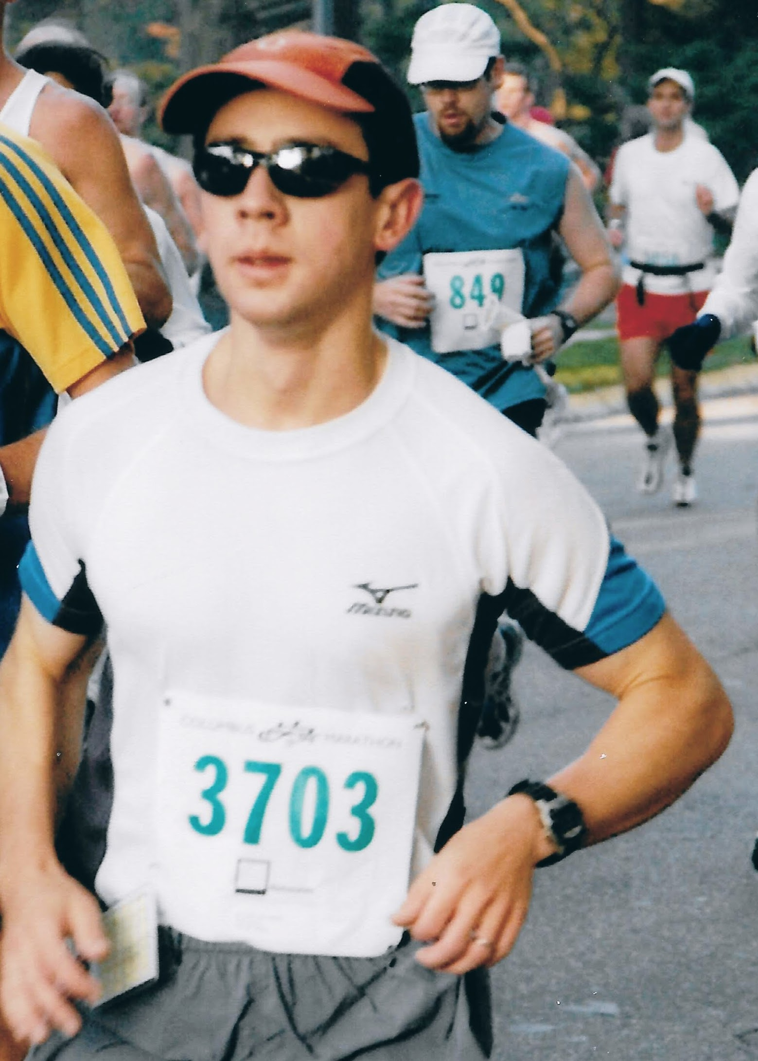sam Hsiao running